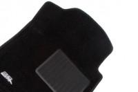 Коврики салона текстильные черные 3D Lux Sotra